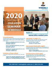 2020 Education Seminar Schedule