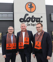 From left to right: Mark Eslamlooy (CEO of the ARDEX Group), Michael Fischer (Managing Partner ofLOBA) and Christian Groß (CEO of Wakol)