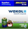 Wakol exhibits at LATAMCAN conference 2020 in Sao Paolo