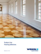 Product Line Flooring Adhesives 2020